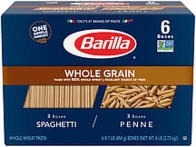 Barilla Barilla Whole Grain Pasta Variety Pack Whole Grain Spaghetti and Penne