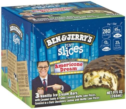 Americone Dream Slices / That purpose is to get up everyday, eat americone dream ice cream until it's gone, drive to the store, buy some more, and repeat.