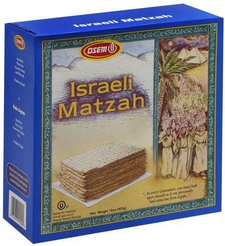 Osem Israeli Matzah - 16 oz