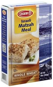 Osem Matzah Meal Israeli, Whole Wheat