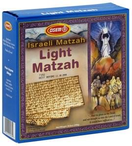 Osem Light Matzah