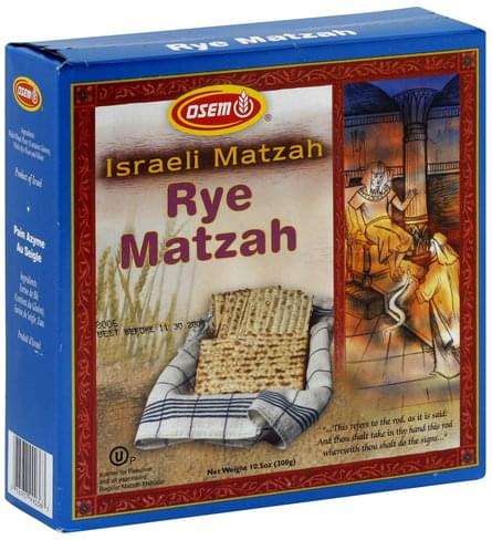 Osem Rye Matzah - 10.5 oz