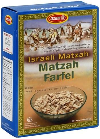 Osem Matzah Farfel - 16 oz