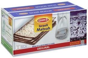 Osem Matzah Israeli, Original