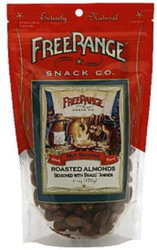 Free Range Roasted Almonds Nut Snacks - 6 oz