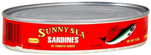 Sunny Sea in Tomato Sauce Sardines - 15 oz
