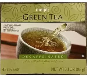 Meijer Decaffeinated Green Tea