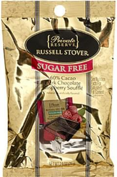 Private Reserve Dark Chocolate Sugar Free 60% Cacao Raspberry Souffle