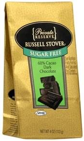Russell Stover Dark Chocolate 60% Cacao