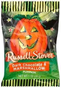 Russell Stover Dark Chocolate & Marshmallow Pumpkin