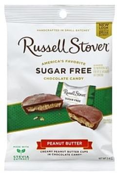 Russell Stover Chocolate Candy Peanut Butter