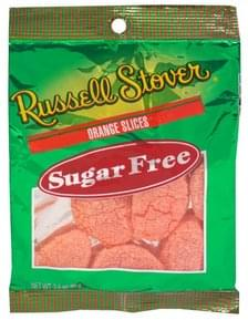Russell Stover Sugar Free Orange Slices