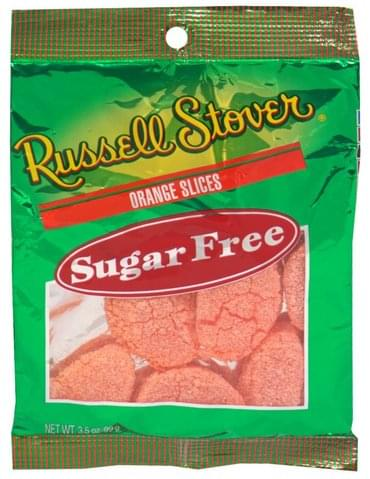 Russell Stover Sugar Free Orange Slices - 3.5 oz