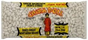 China Doll Great Northern Beans Dried