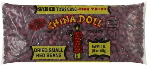 China Doll Dried, Small Red Beans - 16 oz