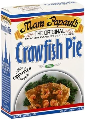 Mam Papauls Crawfish Pie Mix - 2.75 oz