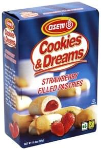 Osem Filled Pastries Strawberry
