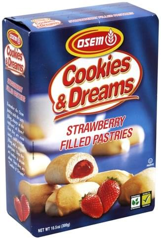 Osem Strawberry Filled Pastries - 10.5 oz