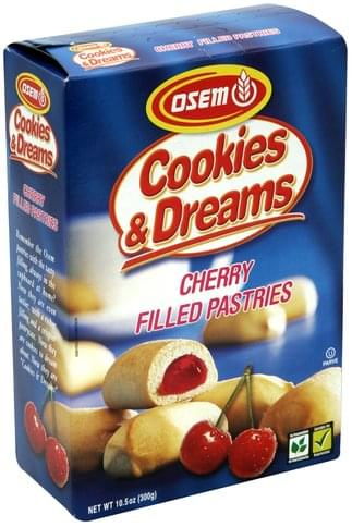 Osem Cherry Filled Pastries - 10.5 oz