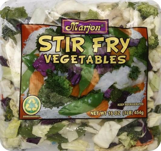 Marjon Stir Fry Vegetables - 16 oz
