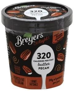 Breyers Ice Cream Reduced Fat, Butter Pecan