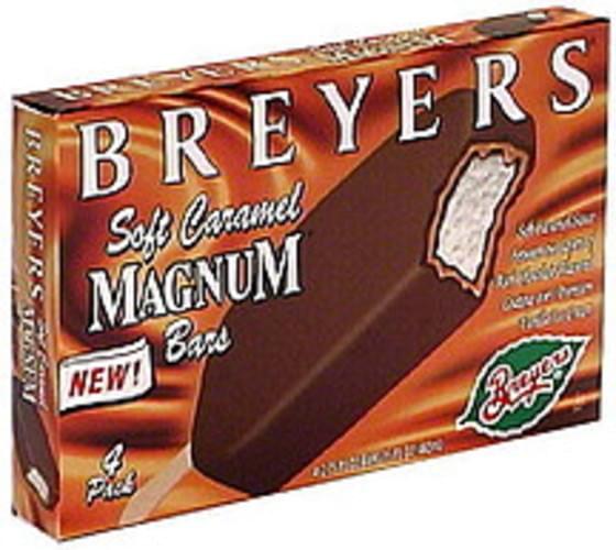 Breyers Soft Caramel Magnum Bars Magnum