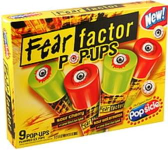 Popsicle Pop-Ups Fear Factor, Assorted