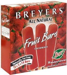 Breyers Fruit Bars Strawberry, Bonus