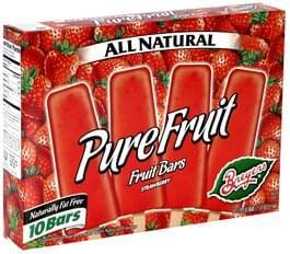 Breyers Fruit Bars Strawberry