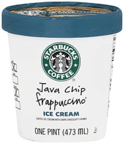 Starbucks Java Chip Frappuccino Ice
