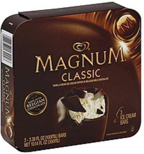 Magnum Classic Ice Cream Bars - 3 ea