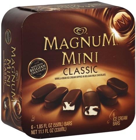Magnum Mini, Classic Ice Cream Bars - 6
