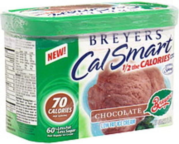 Breyers Chocolate Low Fat Ice Cream - 1