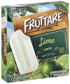 Fruttare Ice Bars Lime