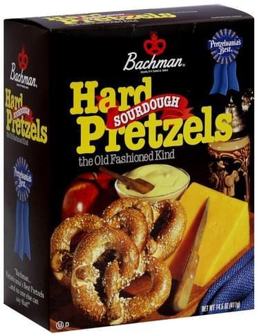 Bachman Sourdough Hard Pretzels - 14.5
