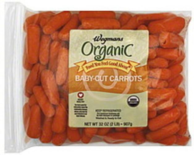 Wegmans Organic, Baby-Cut Carrots - 32 oz