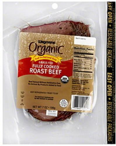 Wegmans Roast Beef - 7 oz