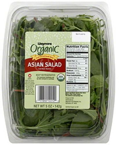 Wegmans Asian, Organic Salad - 5 oz