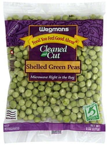 Wegmans Shelled Green Peas - 8 oz