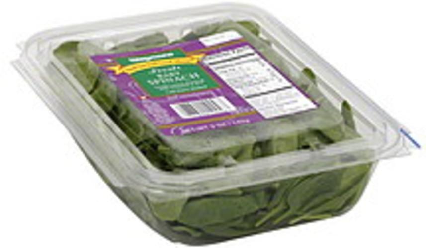 Wegmans Fresh Baby Spinach - 5 oz