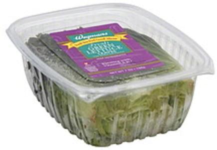 Wegmans Lettuce Leaves Fresh Green