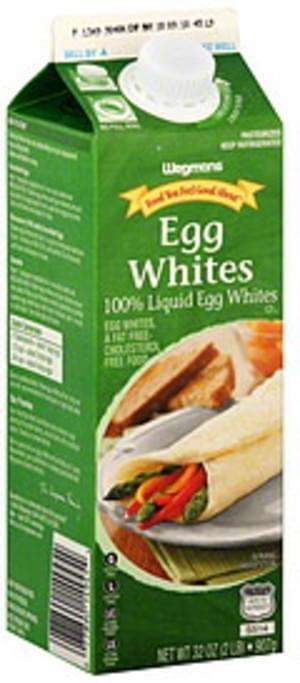 Wegmans Liquid Egg Whites - 32 oz