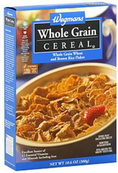 Wegmans Cereal Whole Grain