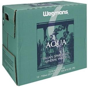 Wegmans Mineral Water Italian Sparkling, Aqua