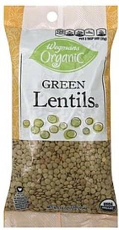 Wegmans Lentils Green