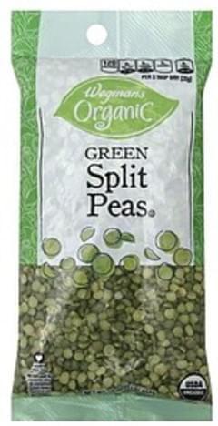 Wegmans Peas Split, Green