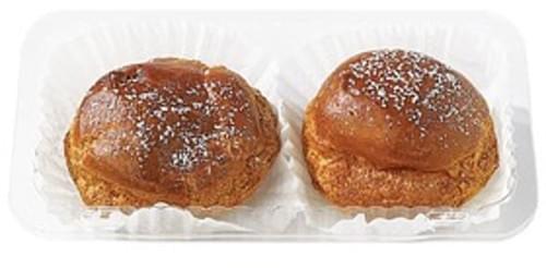 Wegmans Cream Puffs, 2 pack Pastries - 6 oz