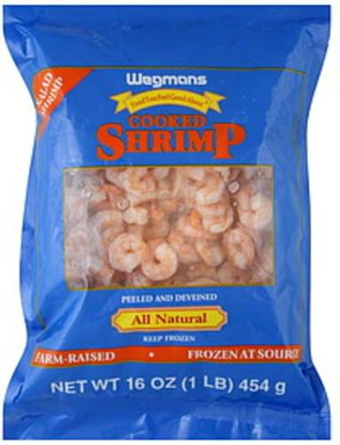 Wegmans Cooked Shrimp - 16 oz
