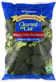 Wegmans Broccoli Florets Cleaned and Cut