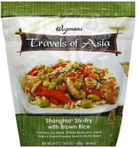 Wegmans Shanghai Stir-Fry with Brown Rice